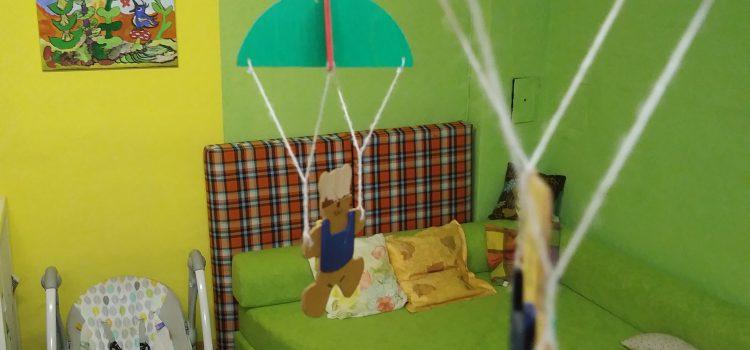 (Deutsch) Renovierungsaktion im Kinderbetreuungsbereich mit dem American Women's Club of Berlin